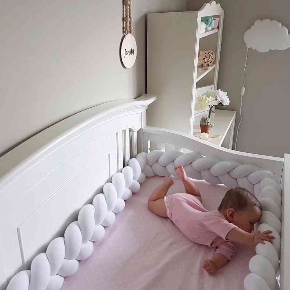 Knot Style Baby Crib Pillow For Protection