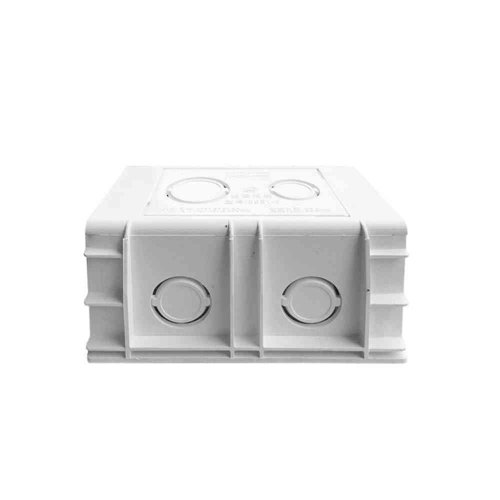 Au/us Standard Universal Wall Mounting Box For Wall Switch And Socket