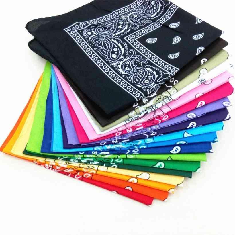 Unisex Cotton Bandana/hairband/scarf For Fishing, Bike Sports, Cowboy