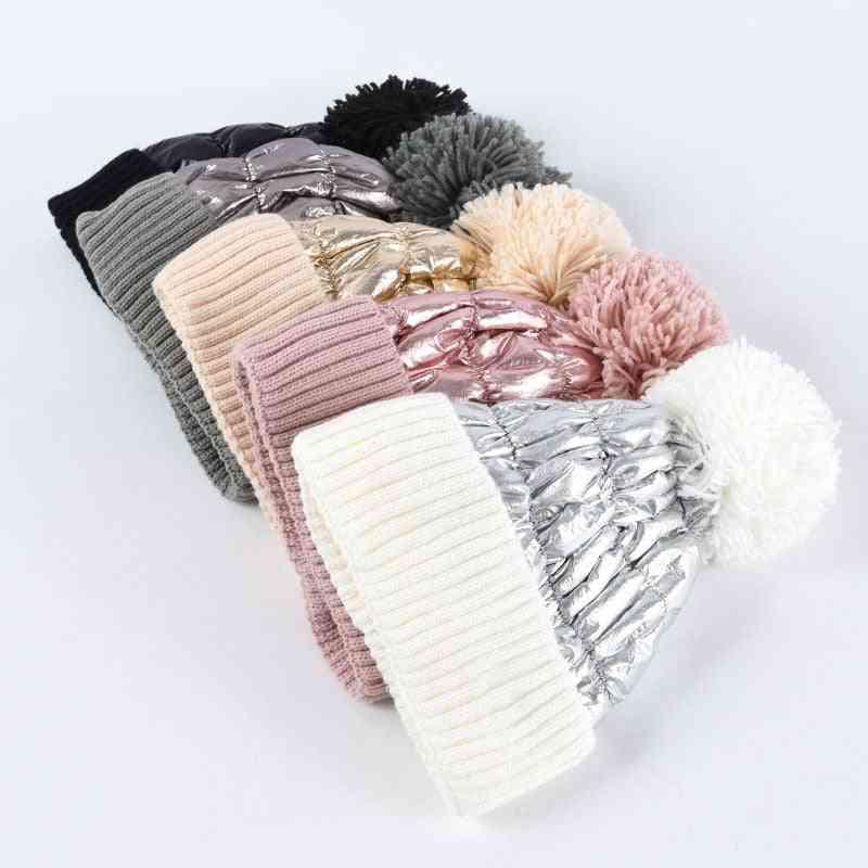 Winter Hat, Women Warm Hedging, Men Feather Velvet Thickened Line Cap