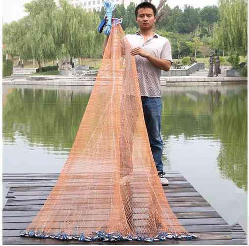 Fishing Net, Hand Throw, Small Mesh