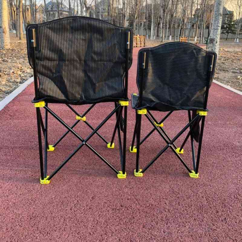 Folding Large Chair Multi Functional, Comfortable For Hiking Picnic, Outdoor Camping
