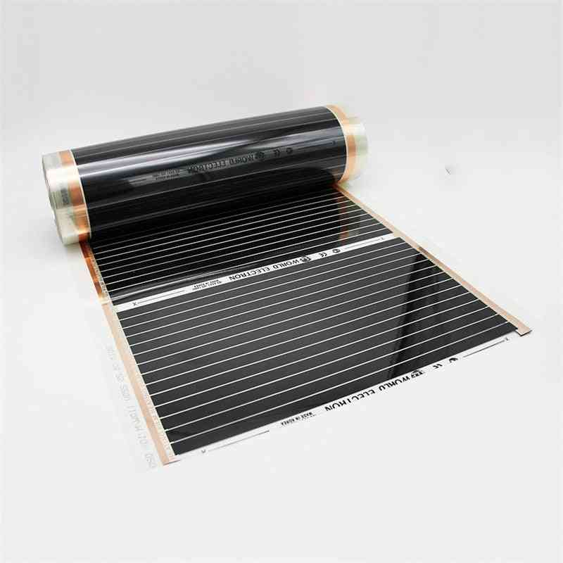 10m2 Carbon Foil Heating Film With Thermostat
