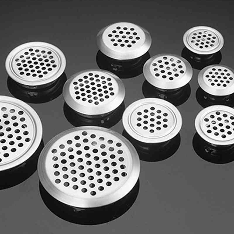 Stainless Steel  Air Vent Wire Hole Cover For Wardrobe, Cabinet