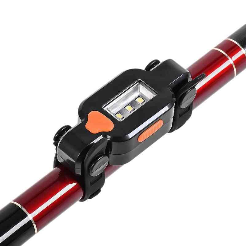 Electronic Led Fishing Rod Sensor, Light Gravity Induction Lamp, Fish Bite Sound Alarm Bell