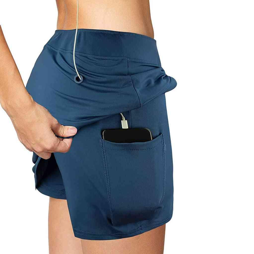 Sport Yoga Fitness Training Balls Stretch Inside Pockets Leggings Shorts Pants