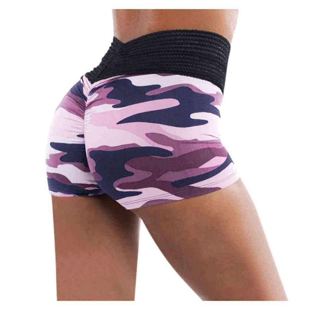 Women Basic Slip Workout Shorts-