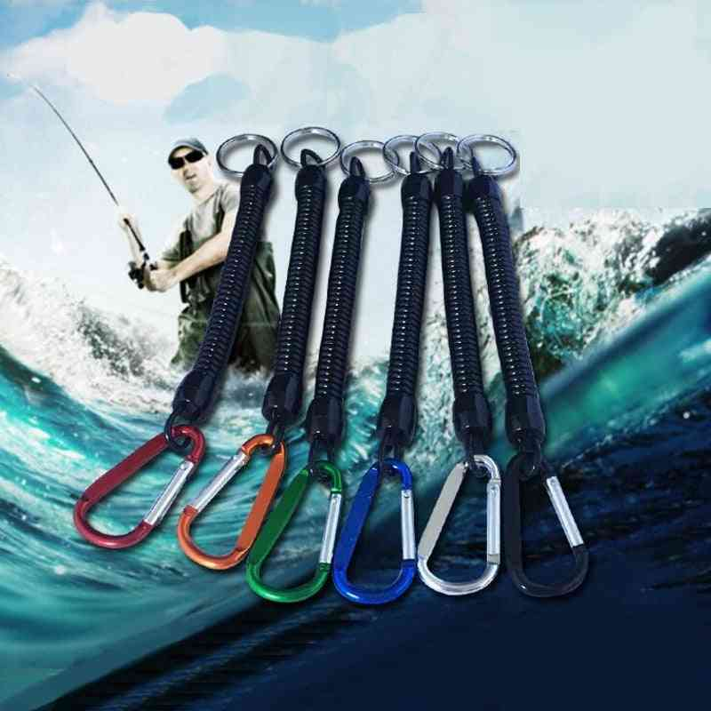 Ropes String With Carabiner For Secure Lock