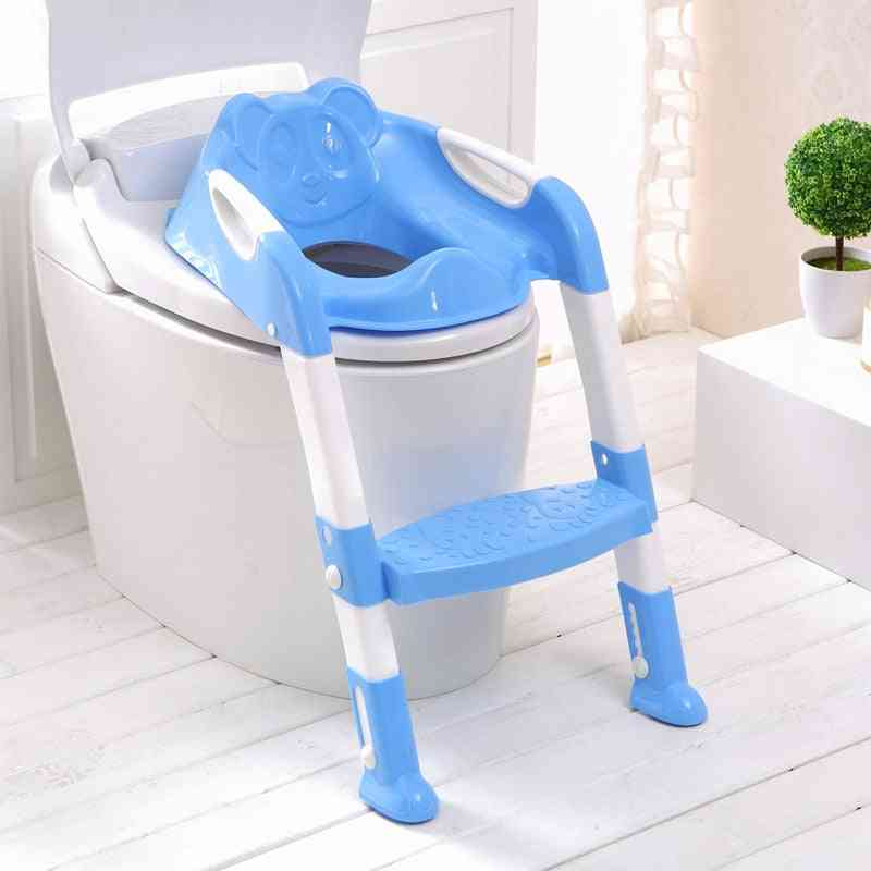 Baby Potty Training Seat With Adjustable Ladder