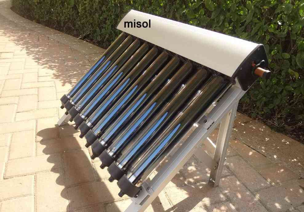Solar Collector-evacuated Tubes For Hot Water