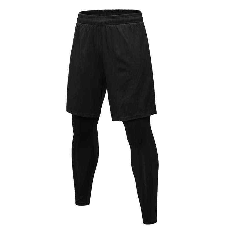 Compression Pants - Mens Sweatpants Leggings, Elastic Dry Fit Training Tights