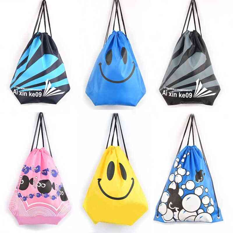 Drawstring Dust Backpacks, Storage Pouch Gym Bags