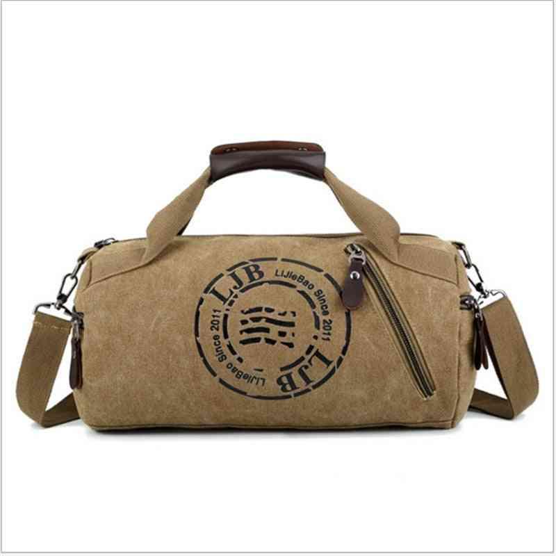 Durable Multifunction Handbag, Men Canvas Sport Bag