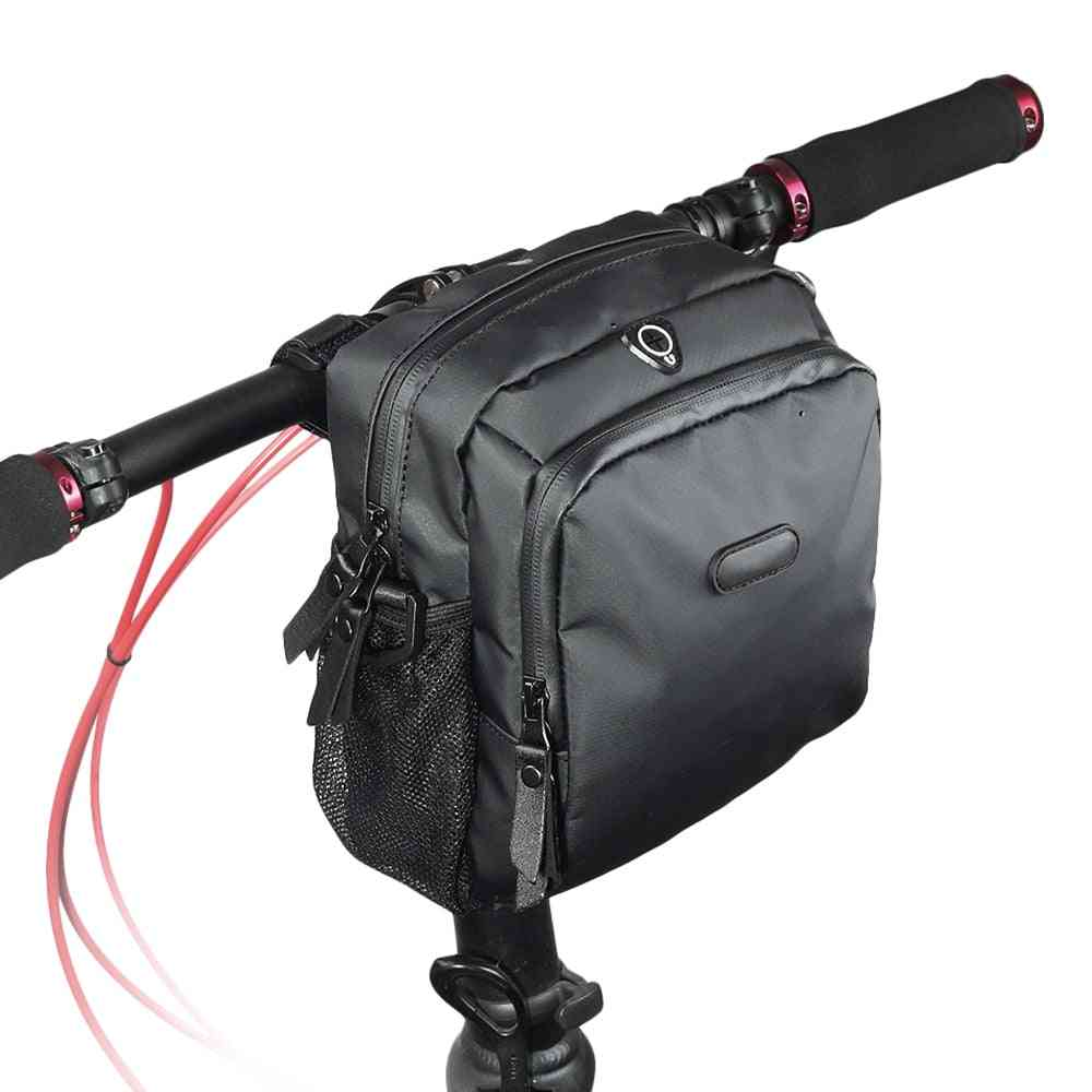 Bicycle Bag Handlebar, Multifunctional Mtb Road Bike Steering Basket