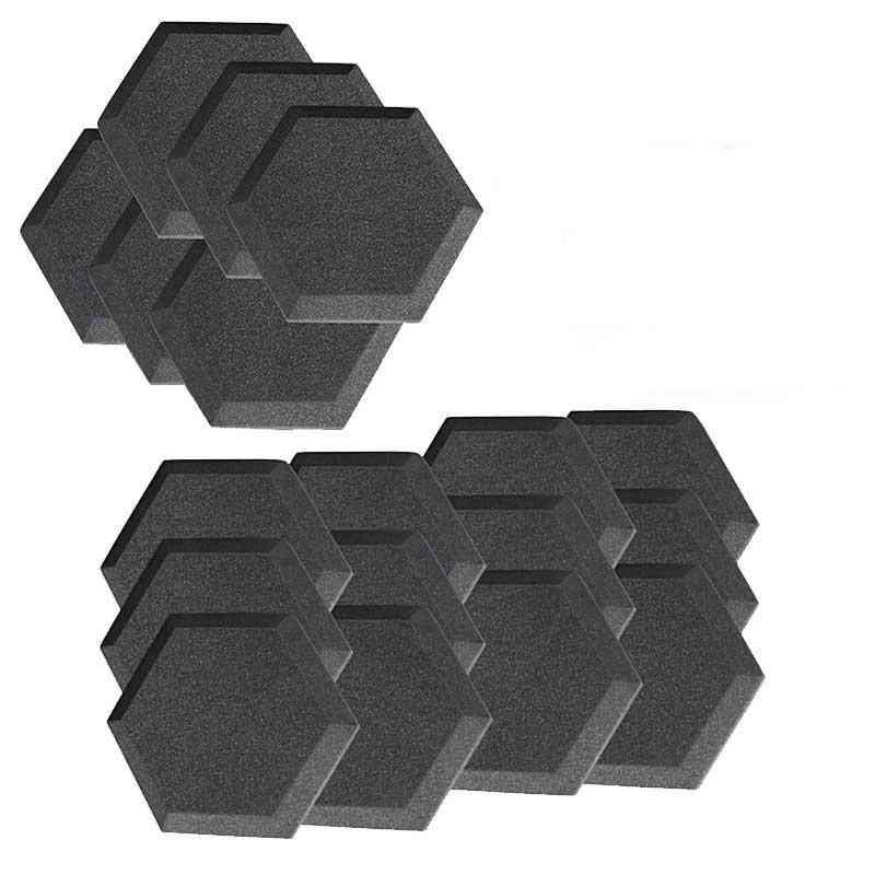 Hexagon Shape, Acoustic Soundproof, Foam Panel