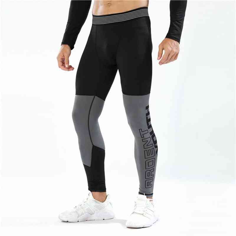 Men Compression Leggings Running Pants