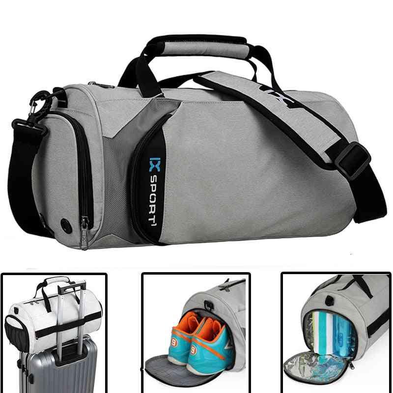 Men Gym Bags For Fitness Training, Outdoor Travel Sport Bag