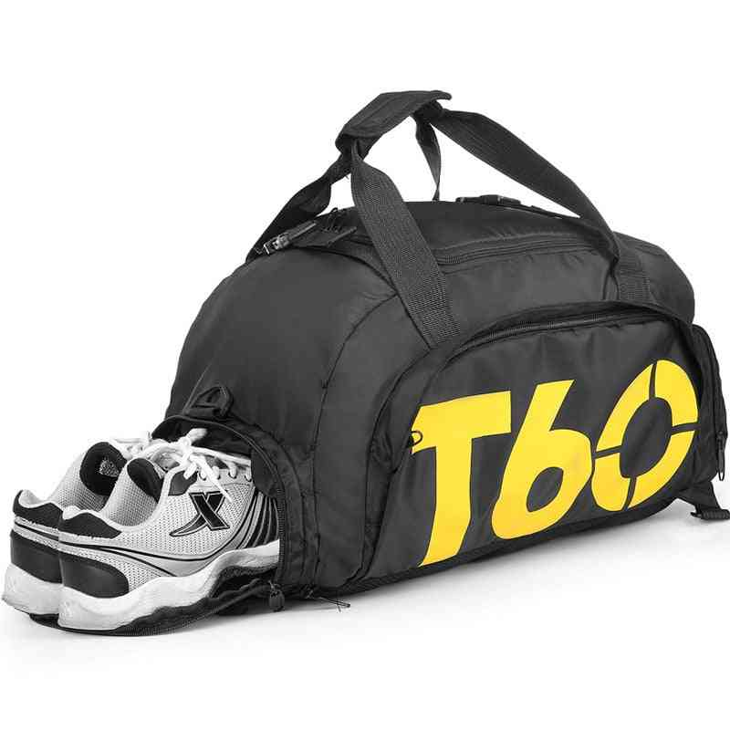 Fitness Training Sports Bag With Shoe Compartment