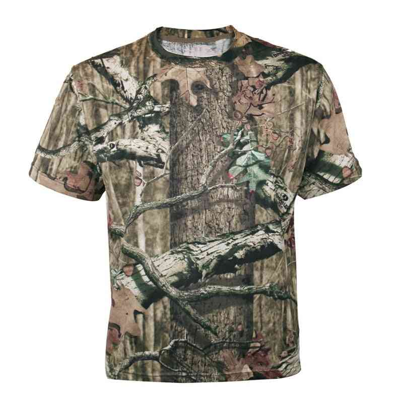 Men Outdoor Breathable Summer Hunting T-shirt