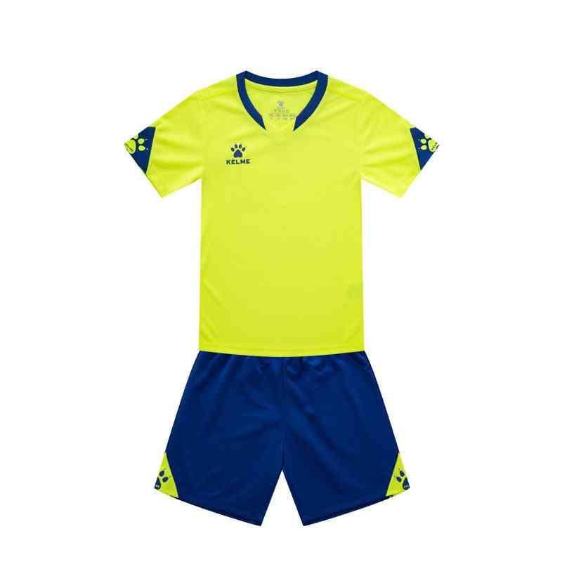 Children Soccer Jersey Football, Summer Suit Shark Training Team Uniform