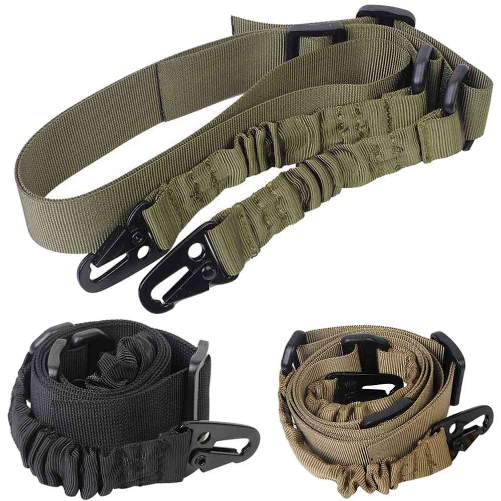 Tactical Hunting Gun 2- Point Sling With Steel Connected Loops