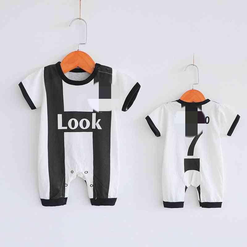 Baby Bodysuit, Summer Jersey Short Sleeve Football