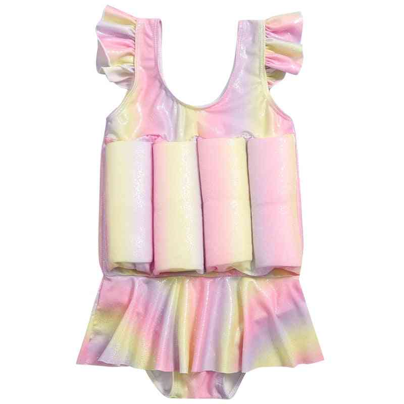 Float Swimsuit With Uv Protection Cap For Baby