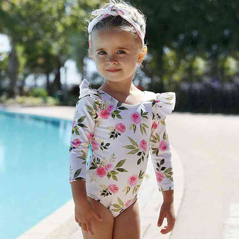 Summer Cute Long Sleeve Toddler Swimming Suit -'s Swim Suit
