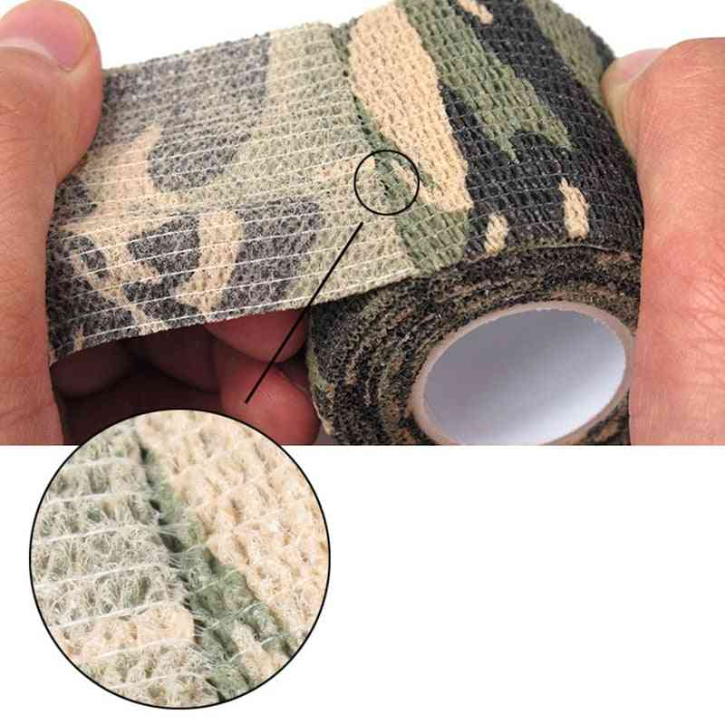 Camouflage Tape- Retractable, Non-woven And Self-adhesive