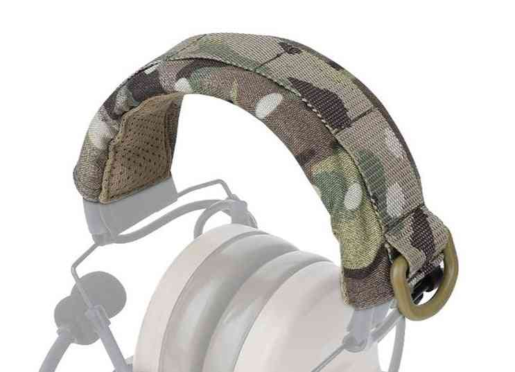 Modular Headset Cover Designed With Molle Webbing And D-ring