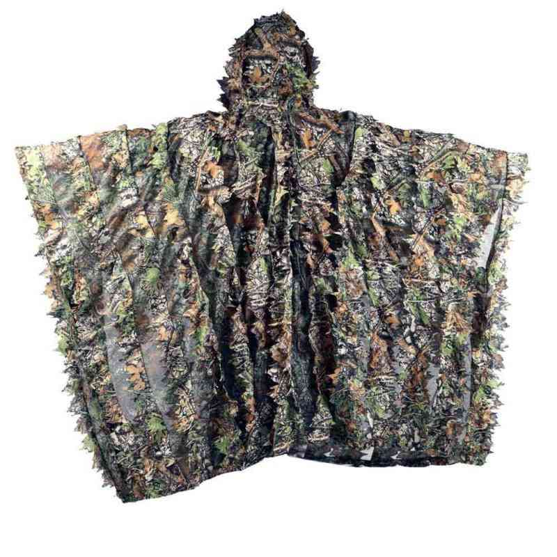 Multi-textured Leafy Pattern, Camouflage Sniper Suit