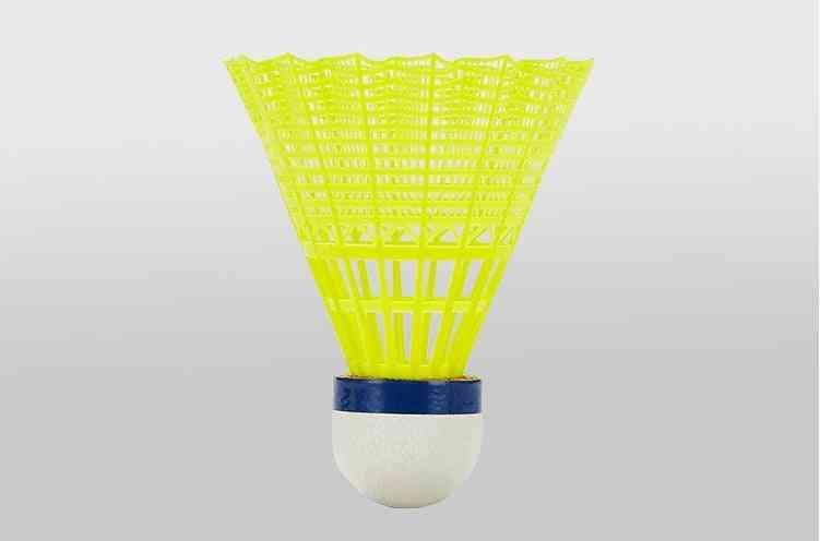 Plastic Nylon Feather Shuttlecock For Badminton Training