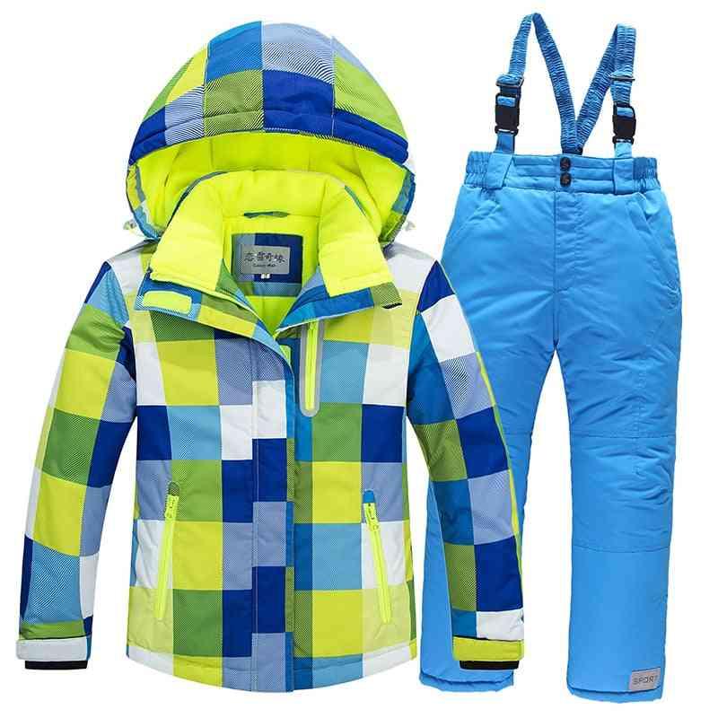 Windproof Snow Suitfor Kids