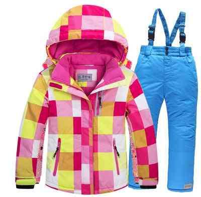 Winter Jacket-pants Ski Set