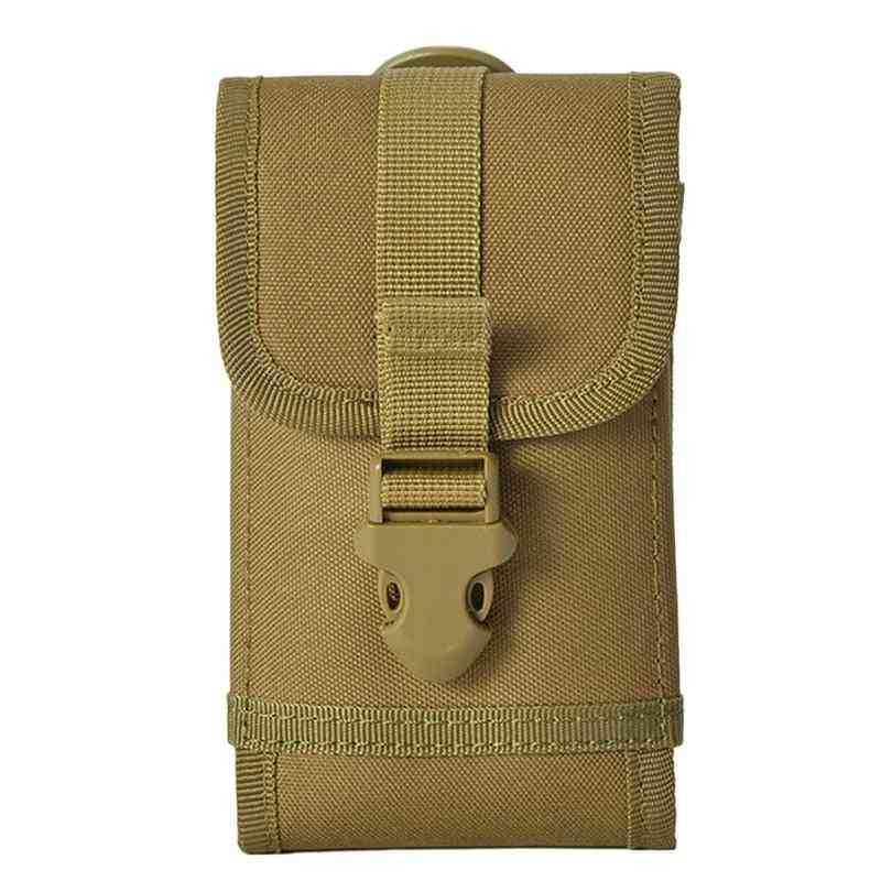 Outdoor Hunting Military Tactical Molle Utility Waist Bag, Phone Belt Pouch