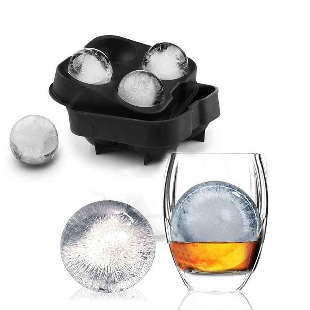 Silicon Ice Cube Maker-ball Shape Mold