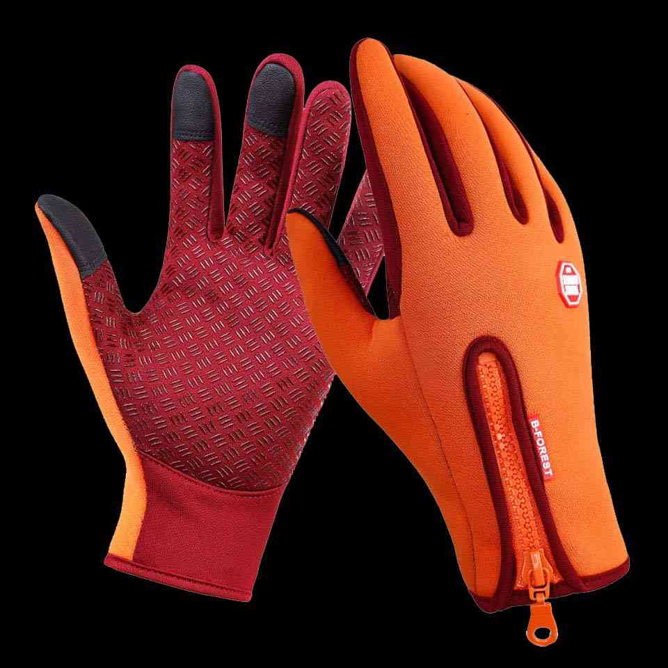 Waterproof Anti-slip Breathable Fishing Gloves, Full Finger Durable Cycling Fitness Carp