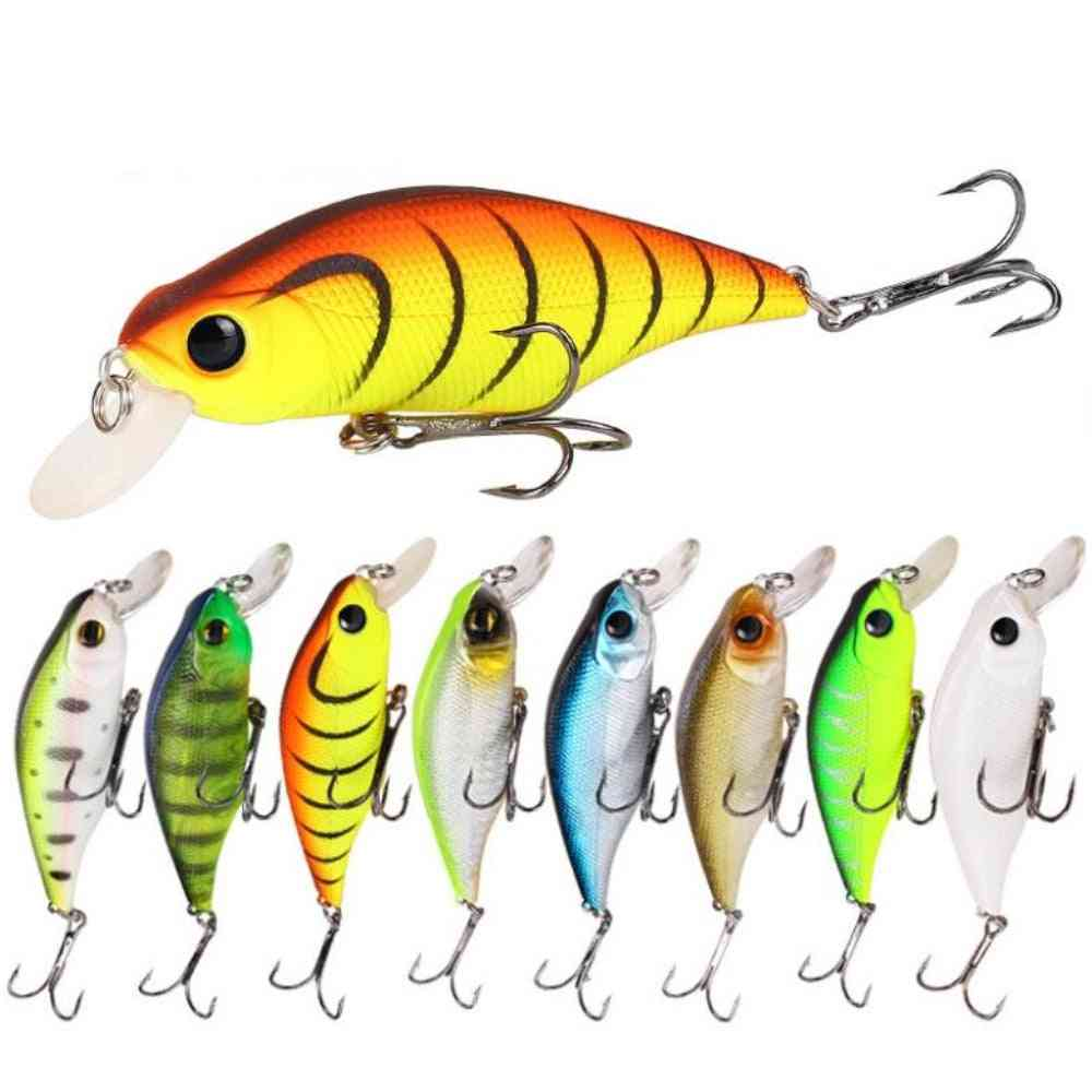 High Quality Minnow Fishing Lures, Artificial Hard Bass Tackle