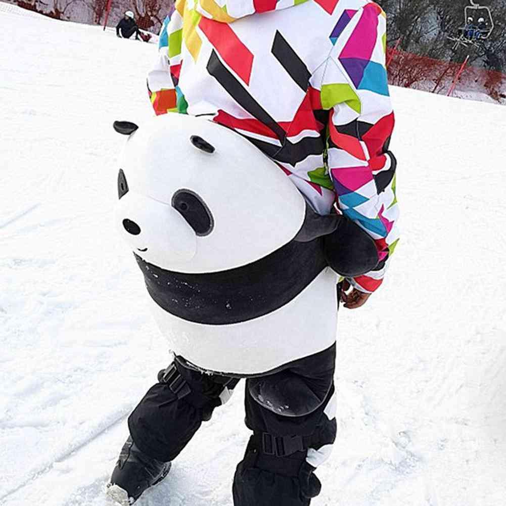 Outdoor Ski Panda Hip Protector, Anti-fall, Shock Roller, Child, Adult, Anti-fall Knee Protector