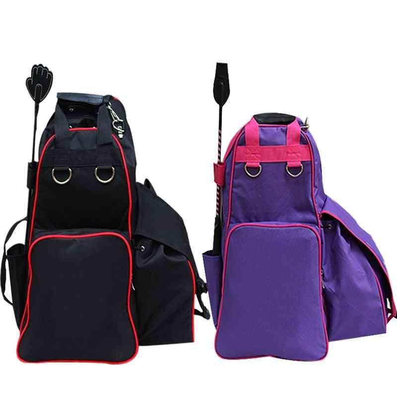 Equestrian Backpack Waterproof, Harness Supplies Professional Rider Equipment