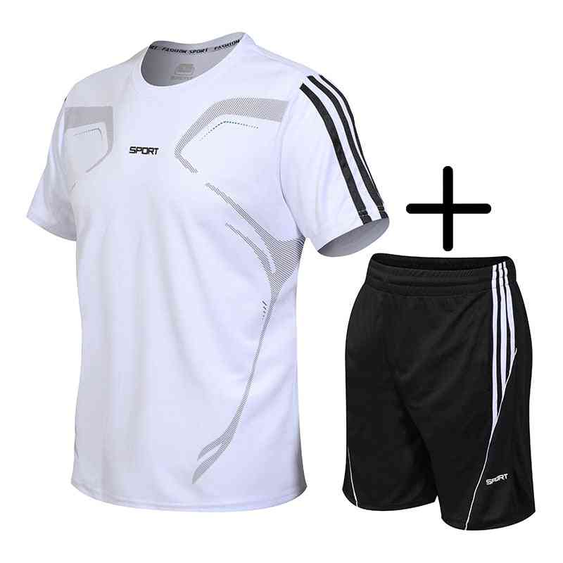 Sport, Gym T-shirt And Shorts