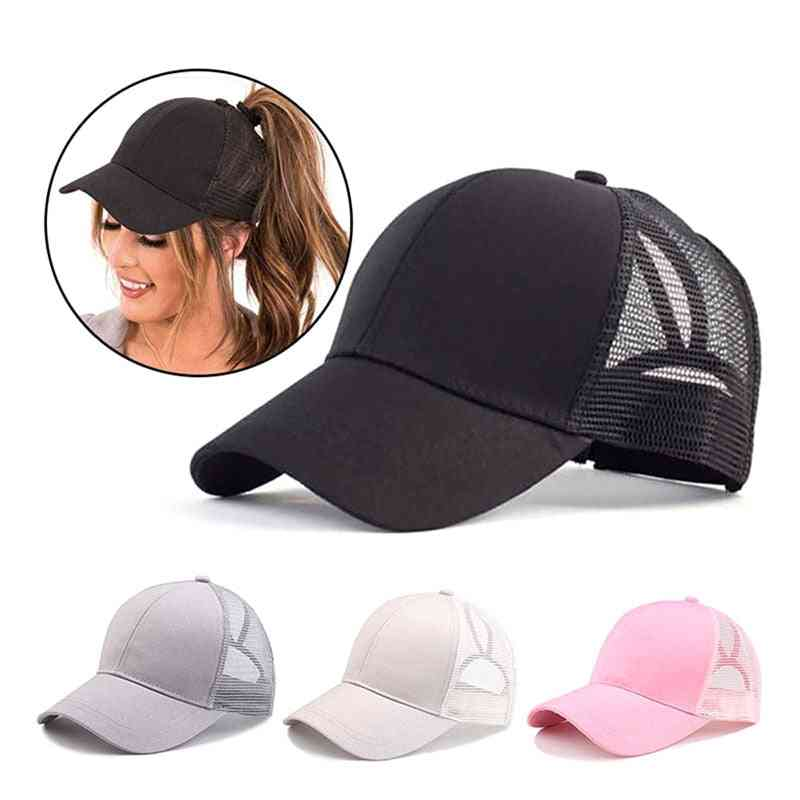 Adjustable Baseball Tennis Cap For Women