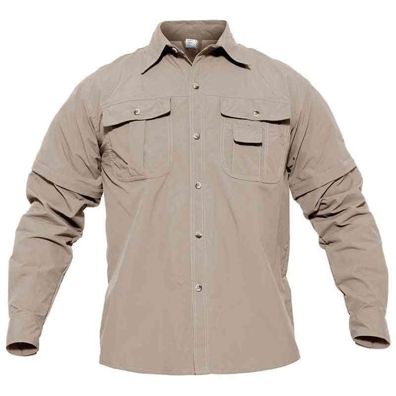 Men Hiking Shirt With Pockets