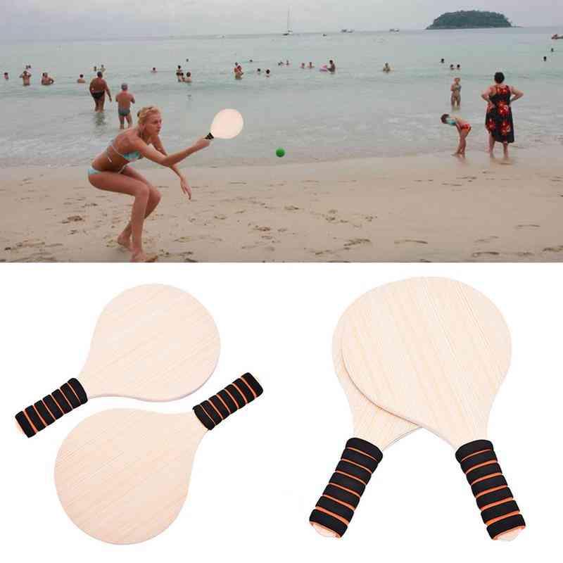 Beach Cricket Paddle Racquet Set