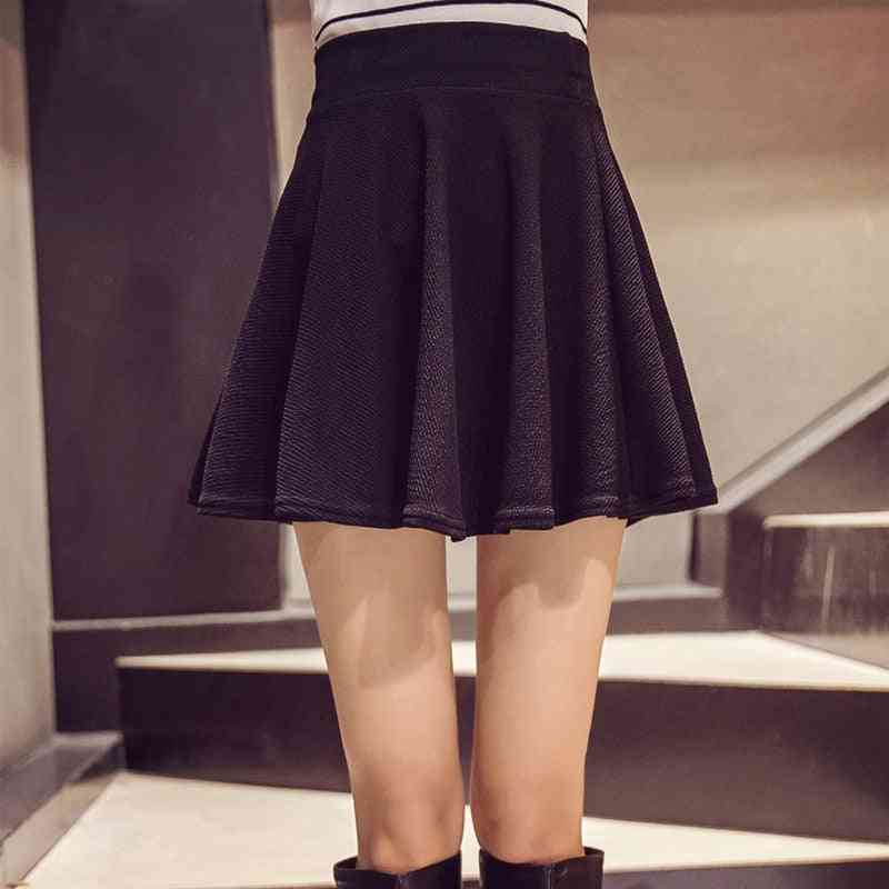Women Sport Pleated Mini Skirt