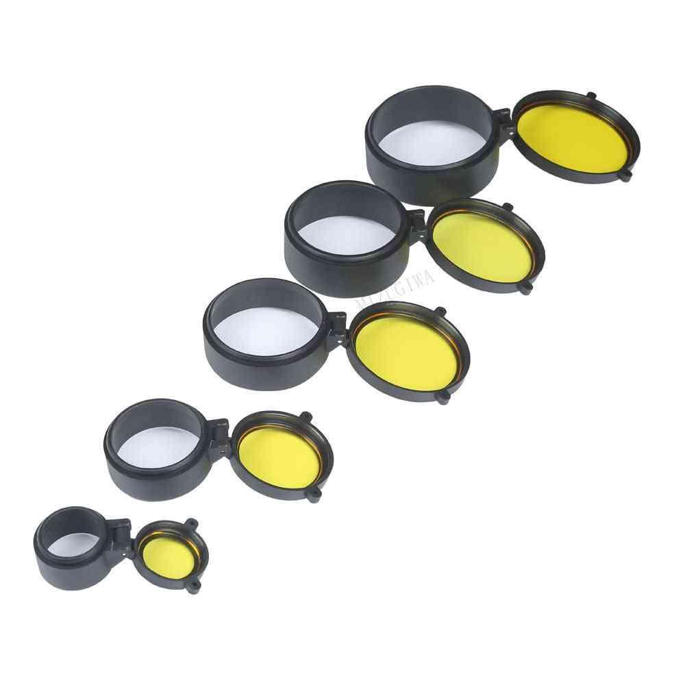 Transparent Rifle Scope Lens Cover