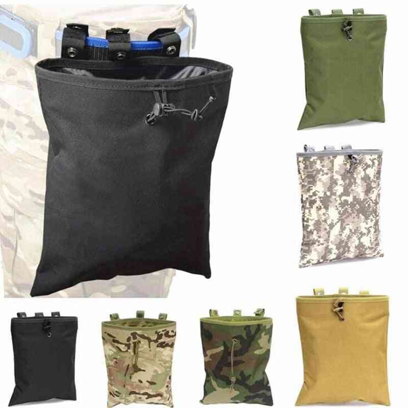 Tactical Mag Recovery, Airsoft Hunting Gear - Drawstring Magazine Recycling Pouch