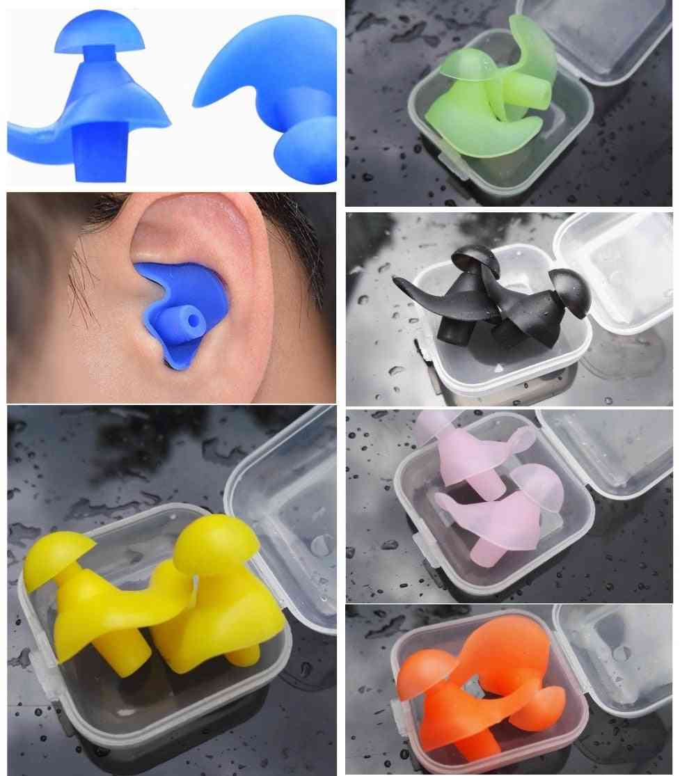 Pair Of Soft Waterproof And  Dust-proof Ear Clips