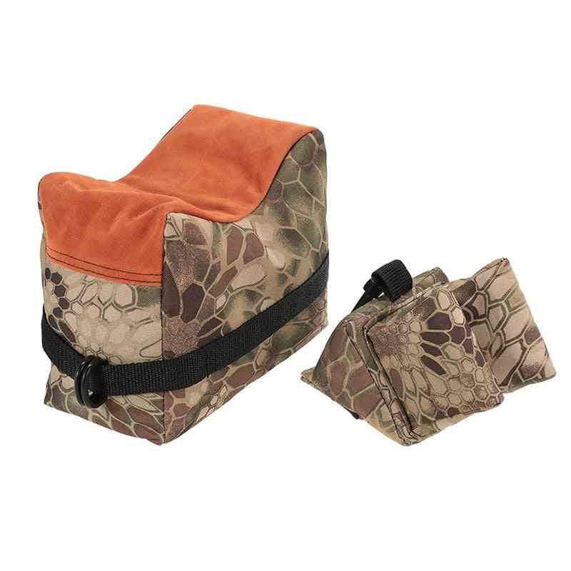 Front & Rear Sandbag For Rifle Support-sniper Shooting Target Stand