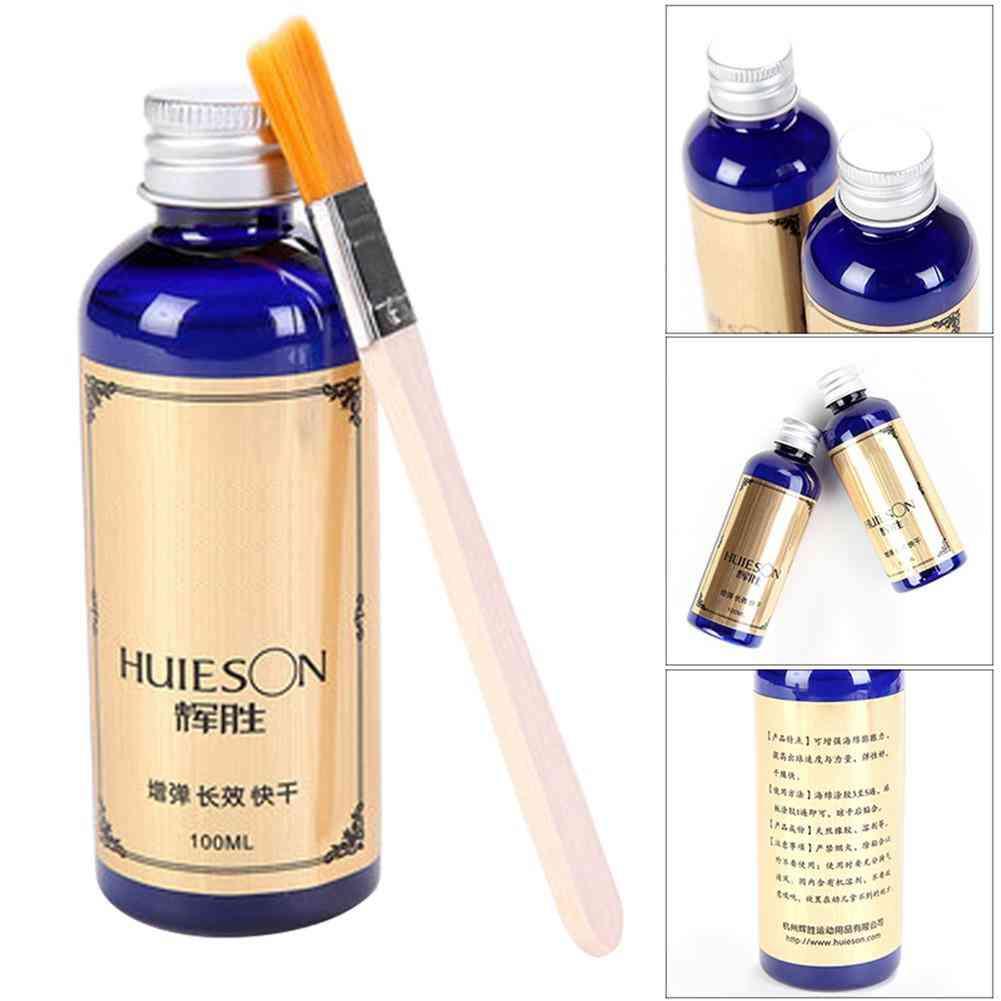 Liquid Glue With Brush For Improving Tennis Ball Speed